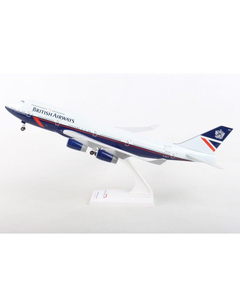 Skymarks British Airways 747-400 1/200 W/Gear Landor