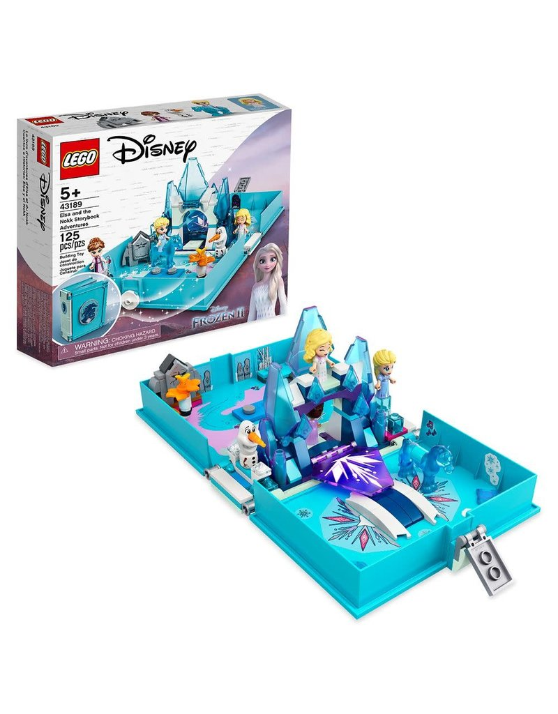 LEGO LEGO Elsa and the nokk storybook