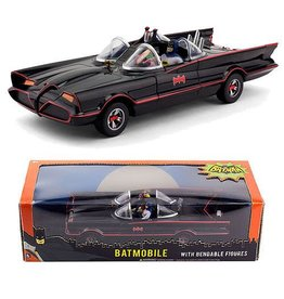 Toysmith Classic Batmobile with Figures