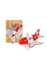 Canada Pullback Toy Airplane