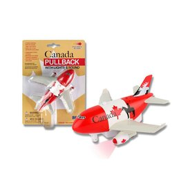 Toytech Canada Pullback Toy Airplane