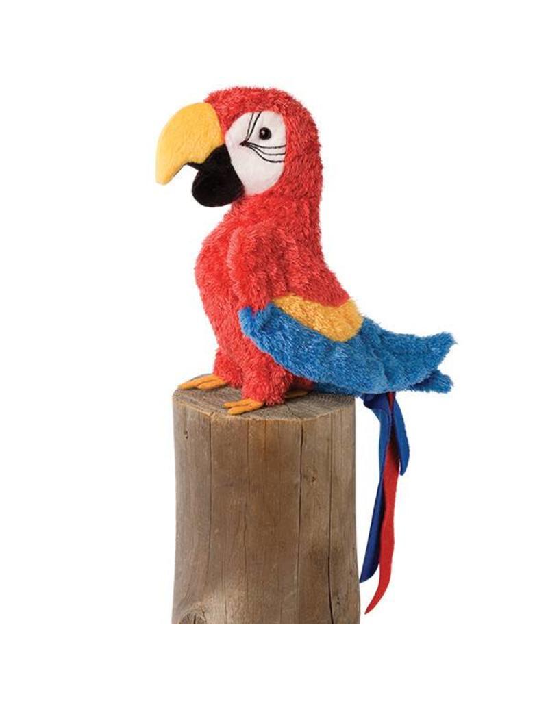 Douglas Gabby Red Parrot  8''