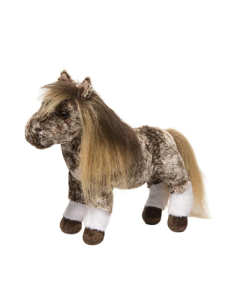Douglas Gypsy Brown Dappled Shetland Pony