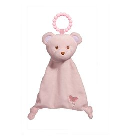Douglas Pink Bear Lil Sshlumpie Teether