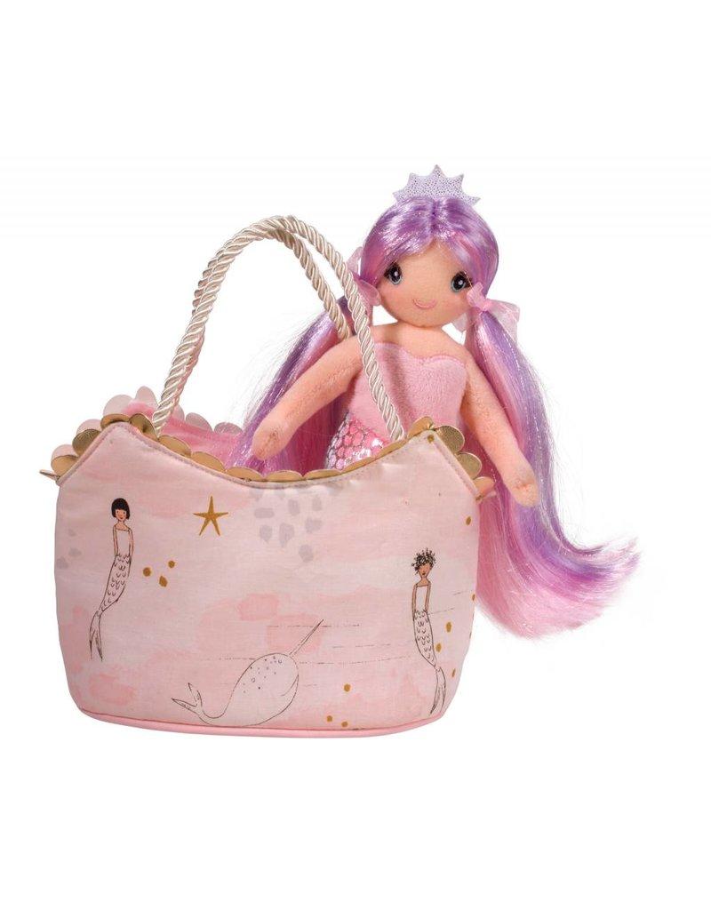 Douglas Pink Mermaid Sassy Sak With Mermaid