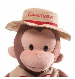 Gund Curious George Teach Me Fisherman 16""