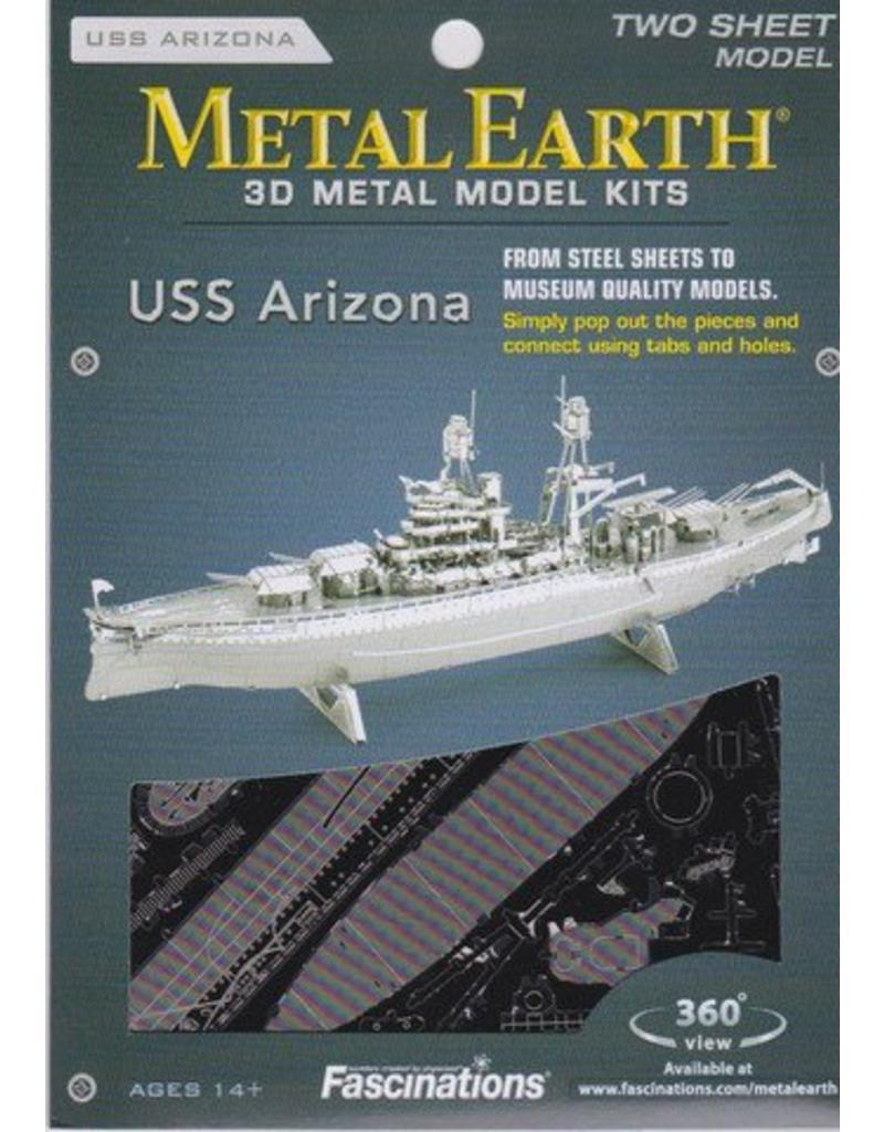 Metal Earth Uss Arizona