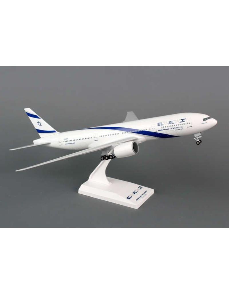 Skymarks El Al 777-200 1/200 With Gear