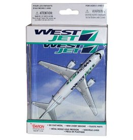 Realtoy Westjet Single Plane Toy