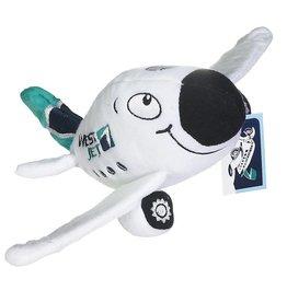 Westjet Chubby plush plane with sound
