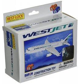 Best Lock Westjet 55 Piece Construction Set
