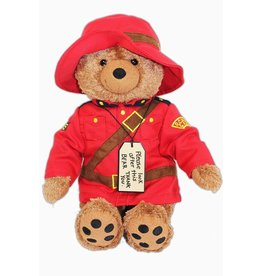 Paddington Rcmp Bear 14""