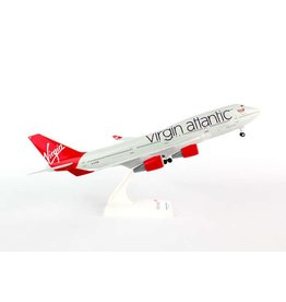 Skymarks Virgin Atlantic 747-400 1/200 With Gear