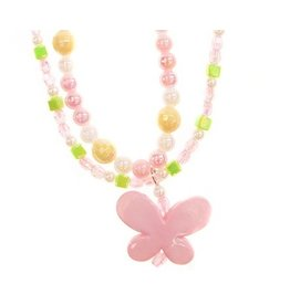 Spring Beauty Butterfly Necklace