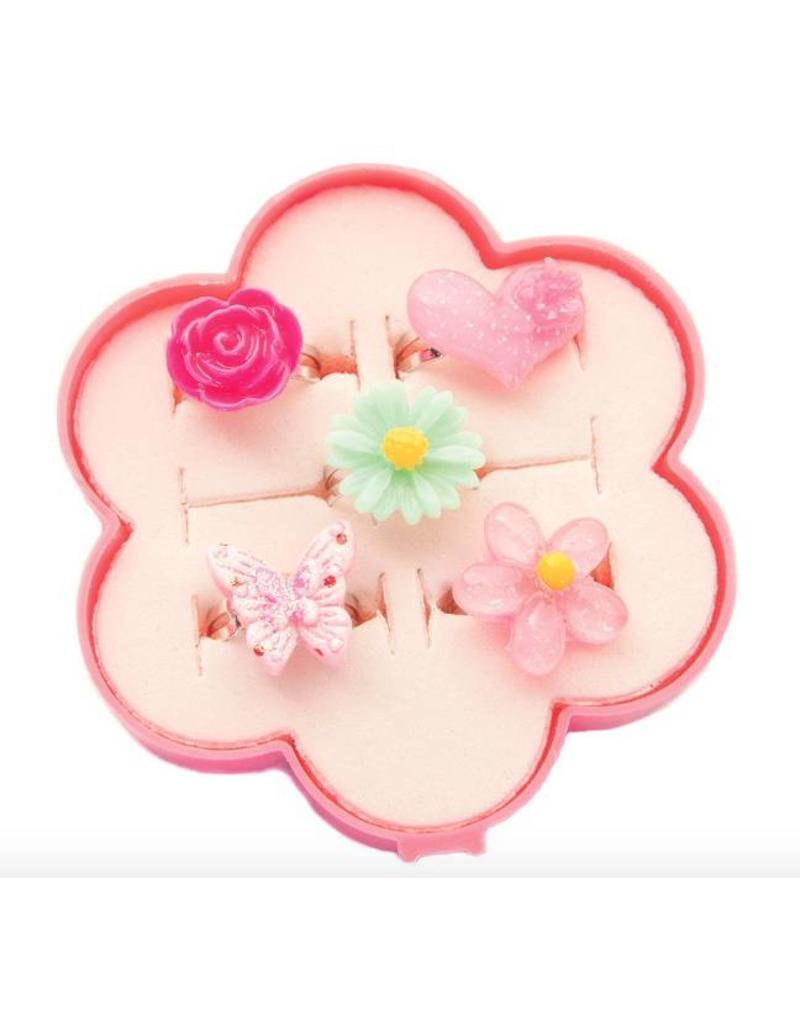 Fairy Flower Ring Set