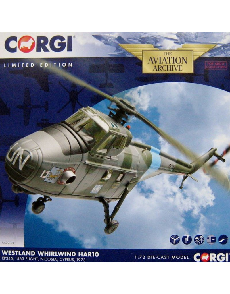 CORGI RAF WESTLAND WHIRLWING HAR10 1/72