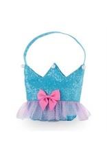 Forever Sparkle Crown Handbag Blue