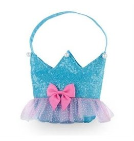 Forever Sparkle Crown Handbag Blue