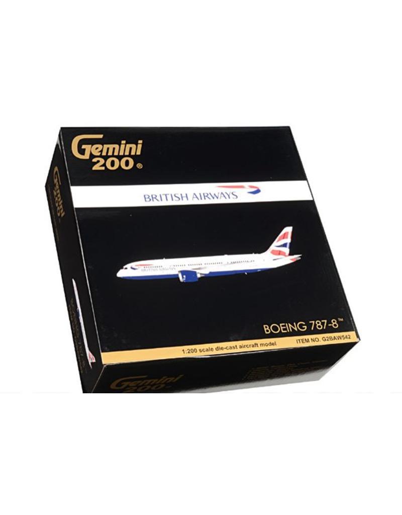 Gemini 200 Gemini British Airways 787-800 1/200