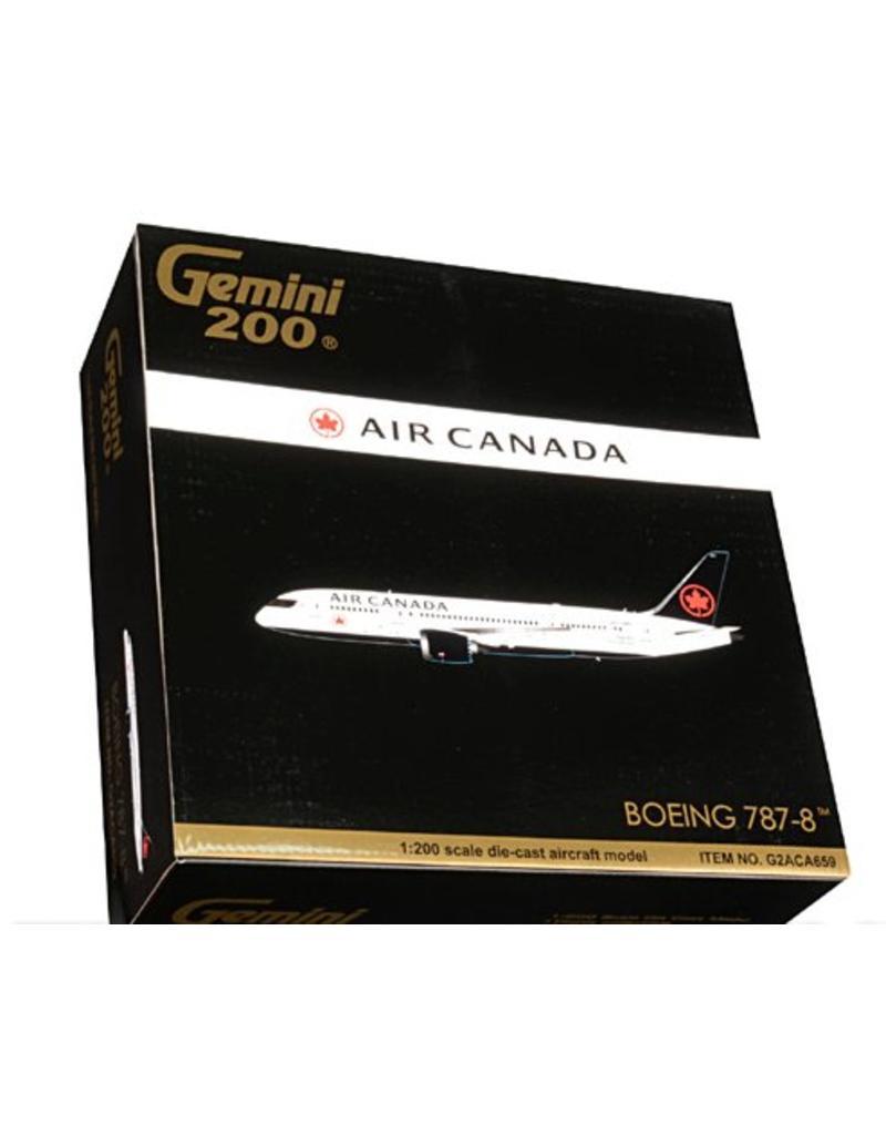 Gemini 200 Gemini Air Canada 787-800 Dreamliner 'New Colours' -New livery 2017  1/200