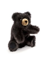 Folkmanis Baby Black Bear Puppet