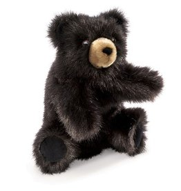 Folkmanis Baby Black Bear Puppet