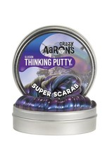 Crazy Aaron's Thinking Putty -Super Scarab