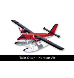 Harbour Air Twin Otter Mahogany