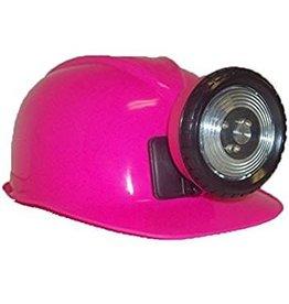 Miner Helmet Pink