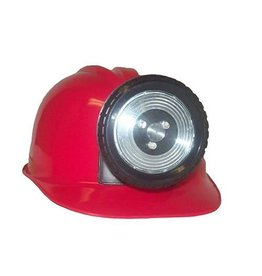 Miner Helmet Red