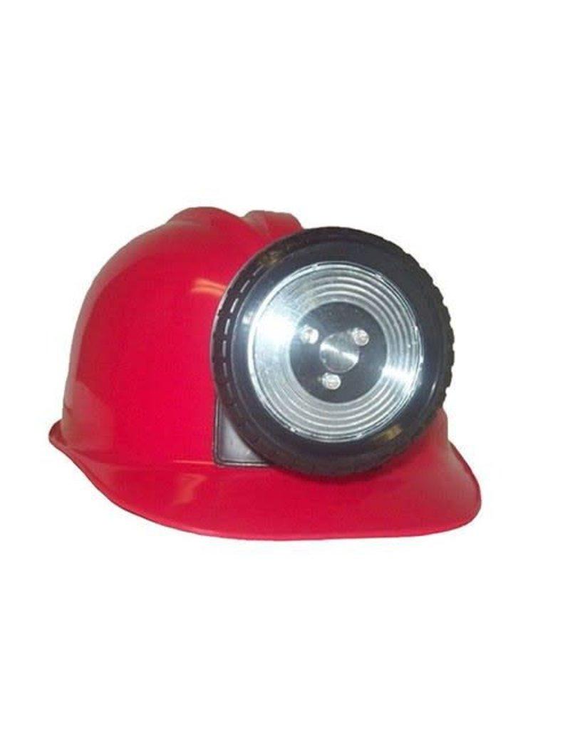 Miner Helmet Red