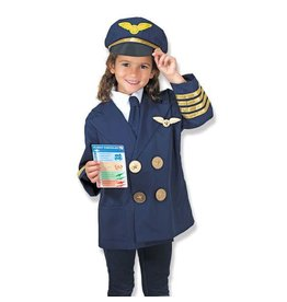 Melissa and Doug Pilot Costume & Role Play Set