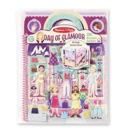 Puffy Sticker Album Day of Glamour