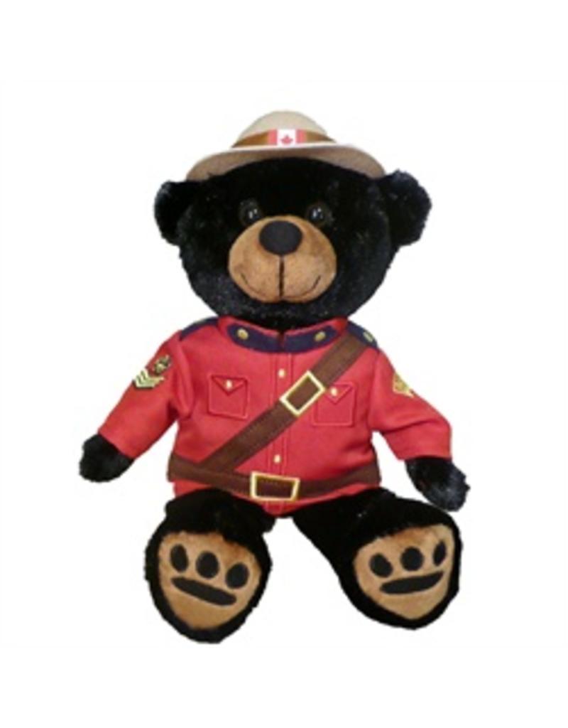 "RCMP Black Bear 11"" - Canada Souvenir"
