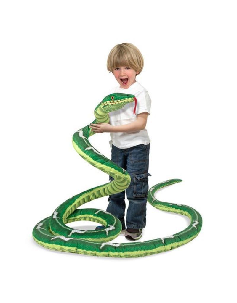 Melissa & Doug Giant Plush Snake