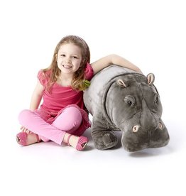 Melissa & Doug  Giant Stuffed Hippopotamus