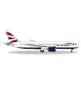 Herpa British Airways 787-800 1/500