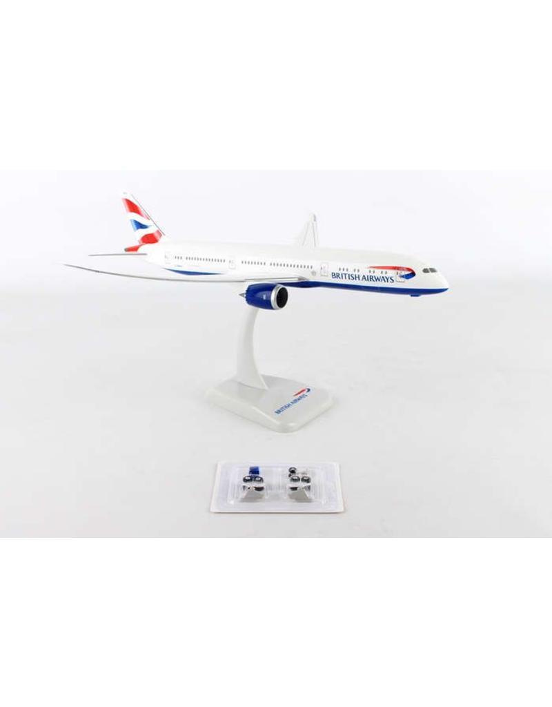 Hogan British Airways 787-900 1/200 With Gear