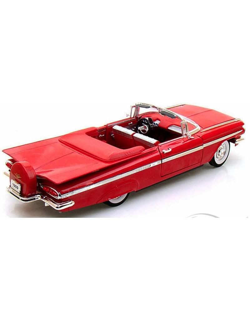 1959 Chevy Impala Convertible Replica 1:18 Red