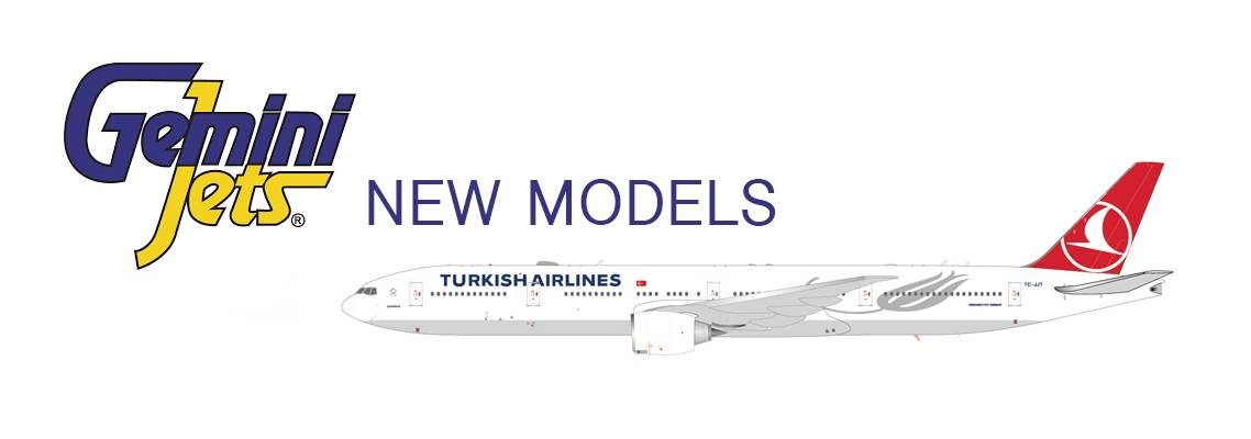 New GeminiJets Model Airplanes