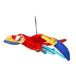 Hansa Flying Scarlet Macaw 30''