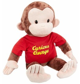 "Gund Curious George  26"" Red Shirt"