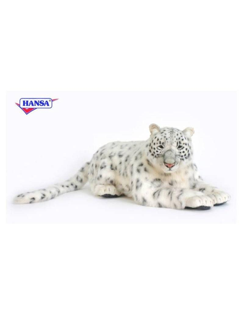 Hansa Snow Leopard Mama Life Size 49''