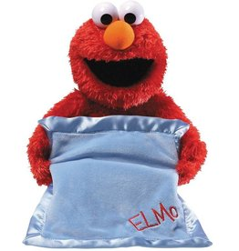 Gund Peek A Boo Elmo With Blanket