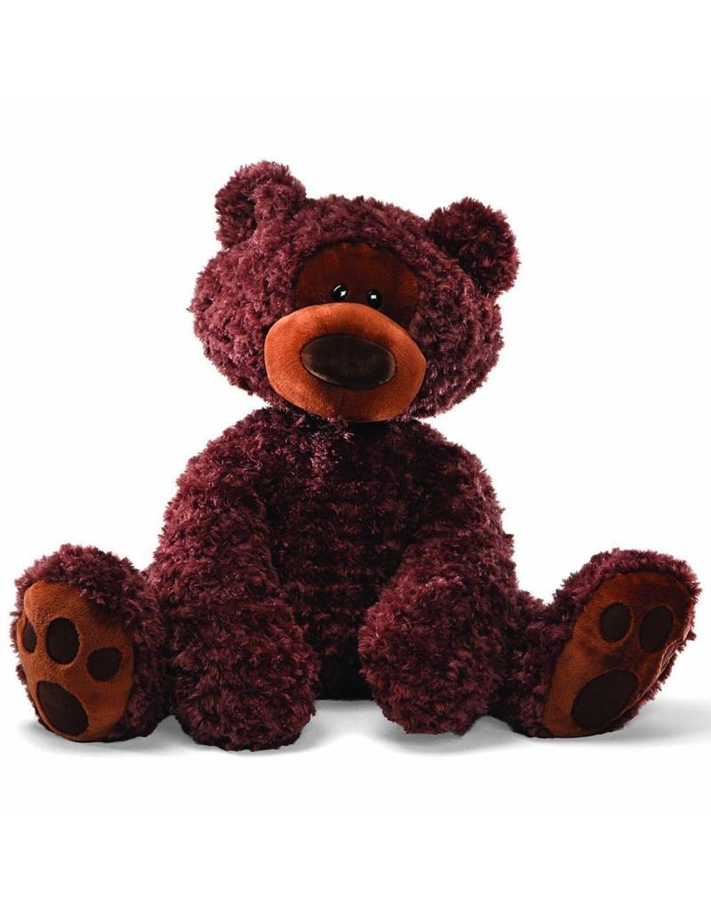 """Gund Philbin Bear Chocolate Jumbo 29"""""""