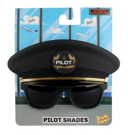 Sunstaches Pilot Cap Glasses