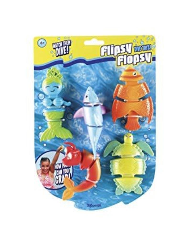 Toysmith Flipsy Flopsy Dive Toys