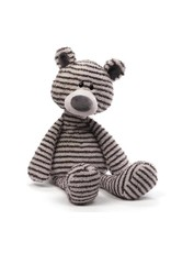 Gund Zag Teddy Bear Gray & White Stripes 13""