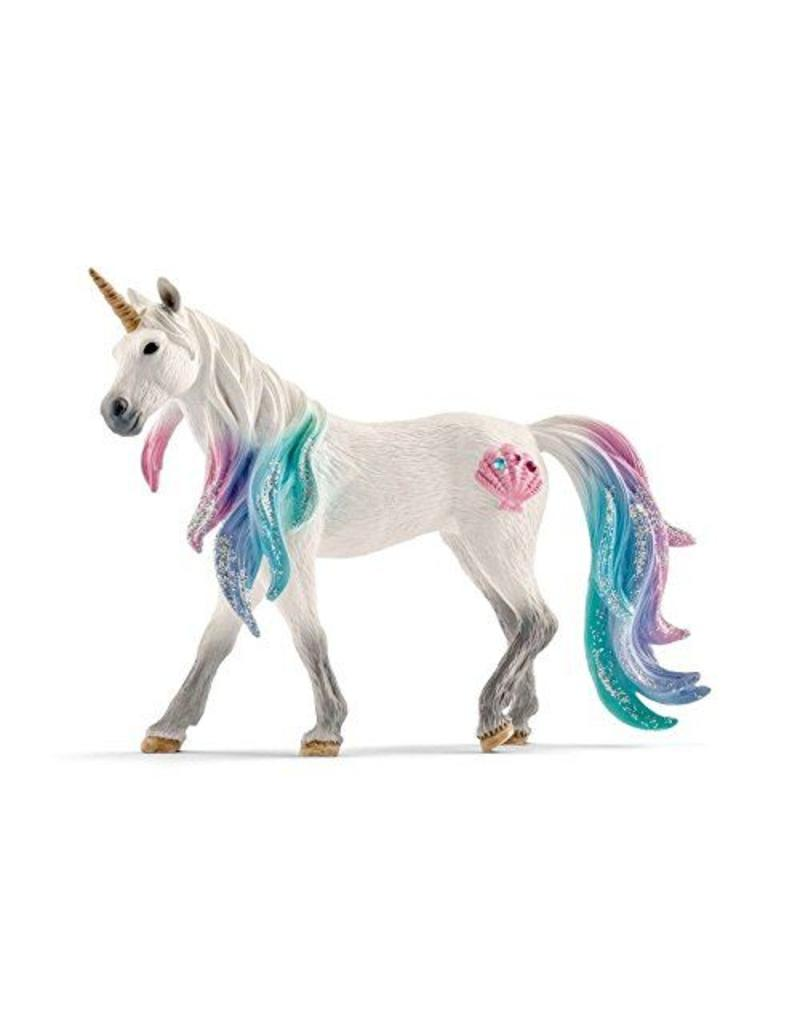 Schleich Sea Unicorn Mare Figurine