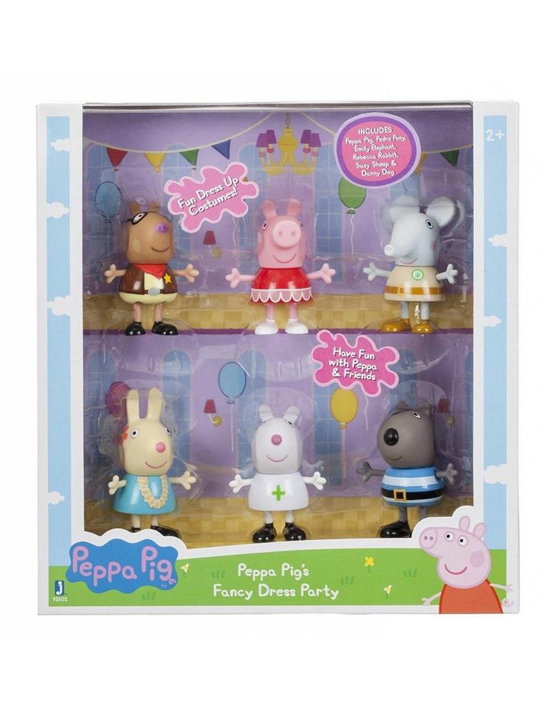 Peppa Pig Costume Party 6 pc